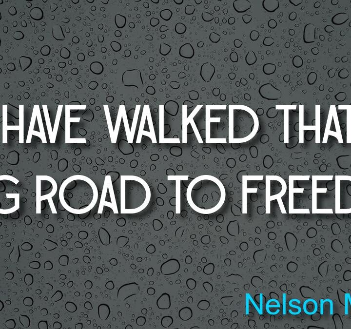 Quotes from Nelson Mandela, Peter Agre, Anita Elberse.