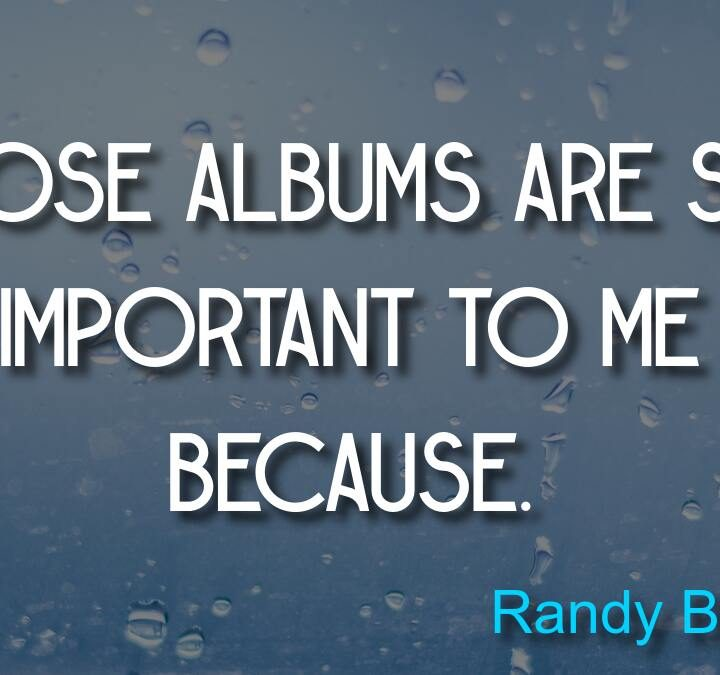 Quotes from Randy Bachman, Socrates, Drucker, Vince Lombardi.