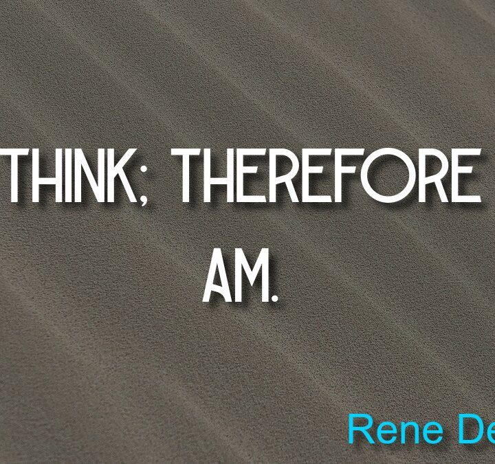 Quotes from Rene Descartes, James Clear, Rumi.