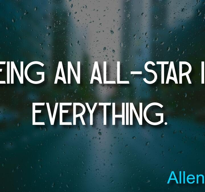 Quotes from Allen Iverson, Thich Nhat Hanh, Hank Aaron.