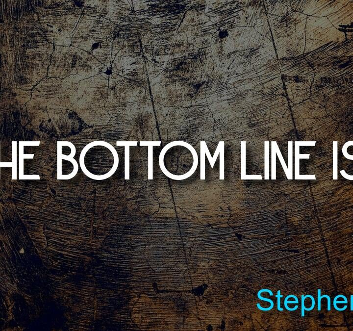 Quotes from Stephen Covey, Andrew Card, Louis Bacon, Jeremy Irvine, Kurt Cobain.