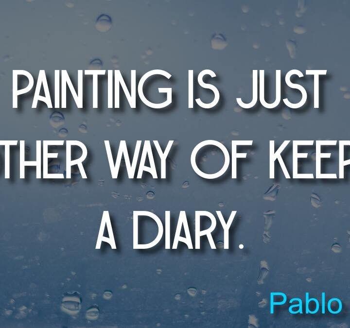 Quotes from Pablo Picasso, Michael Feldman, Charles M. Schulz, J. R. R. Tolkien.