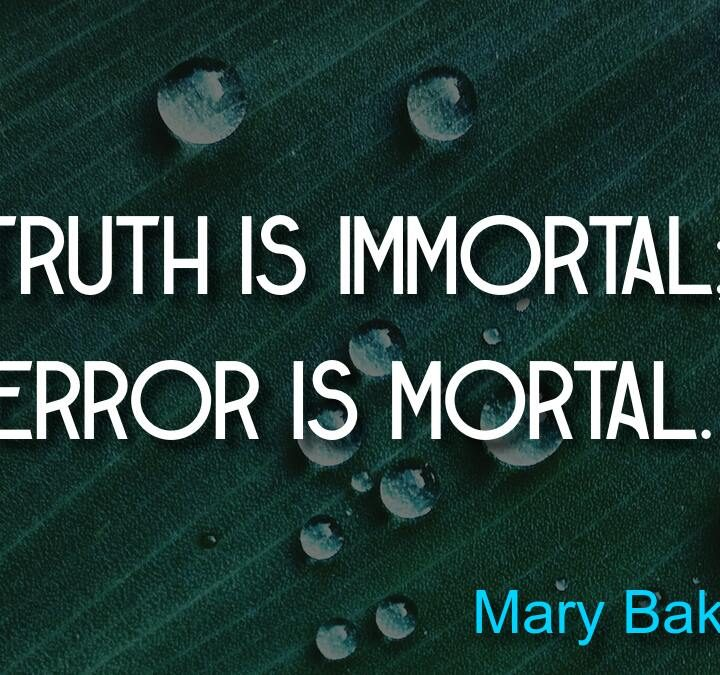 Quotes from Mary Baker Eddy, Melvin Udall (As Good As It Gets), George Carlin, Jeff Bezos (Amazon), Herman Cain, Marvin Minsky.