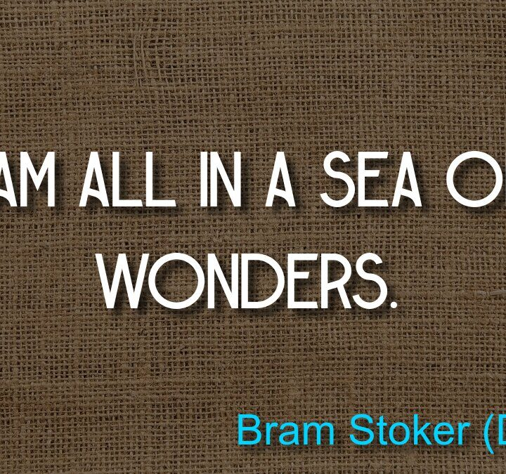 Quotes from Bram Stoker (Dracula), Peter Capaldi, Henry Wadsworth Longfellow.
