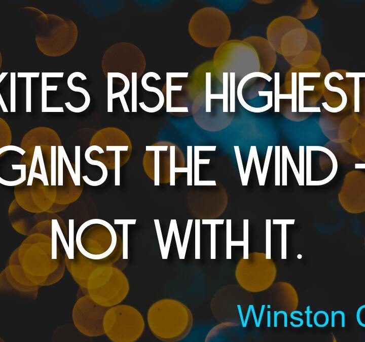 Quotes from Winston Churchill, African proverb, Clare Balding, Peter Diamandis, Nancy Pearcey.