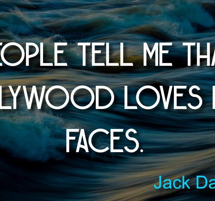 Quotes from Jack Davenport, Samuel Beckett, James Dean, Bill Cosby, Jesse Jackson.